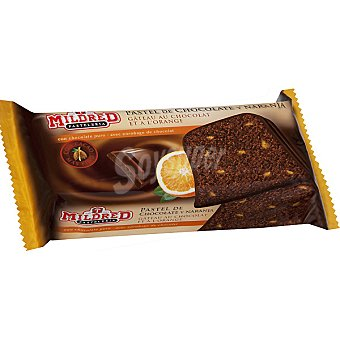 Mildred Pastel de chocolate y naranja Paquete 400 g