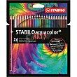 Lápices color aquacolor arty line 24 ud Stabilo