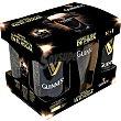 Cerveza negra irlandesa pack 5 lata 44 cl + Vaso de Pinta pack 5 lata 44 cl Guinness