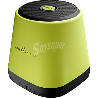 ENERGY SISTEM Music Box BZ1 altavoz bluetooth portátil en color verde
