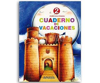 Anaya Cuaderno Vacaciones 2º 1 Unidad