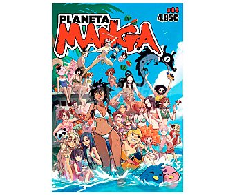 Planeta Planeta Manga Nº4, VV. AA. Género cómics. Editorial Planeta.