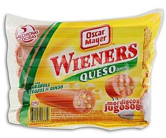 OSCAR MAYER Salchicha tipo viena con queso Paquete de 200 g