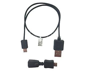 SELECLINE Cable de conexión Usb a microusb y miniusb (producto económico alcampo),