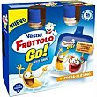 Petit fresa-plátano Go Pack 4 x 80 g Fruttolo Nestlé