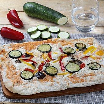 Carrefour Pizza de verduras a la Parrilla Envase de
