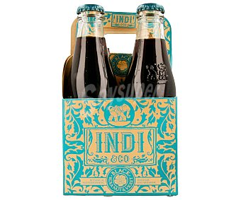 Indico Refresco de cola Pack de 4 botellas de 20 cl