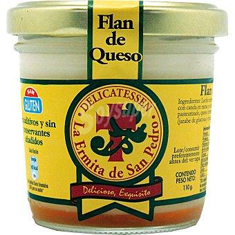 LA ERMITA DE SAN PEDRO Flan de queso tarro 110 g envase 110 g