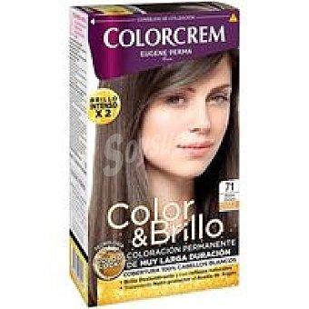 Colorcrem Tinte rubio ceniza N.71 Caja 229 g