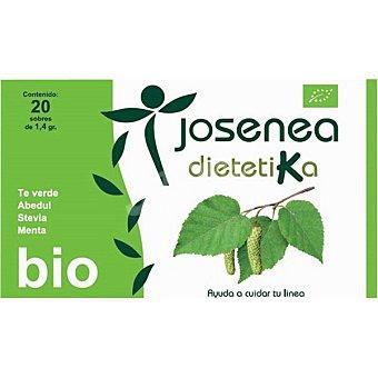 JOSENEA DIETÉTICA BIO Infusión control de peso 20 sobres  caja de 28 g