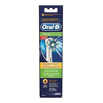 Oral-B Recambio cepillo dental eléctrico Cross Action 4 ud