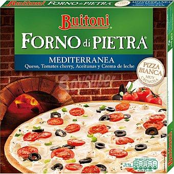 Buitoni Pizza de queso, tomates cherry, aceitunas y crema de leche  estuche 310 g