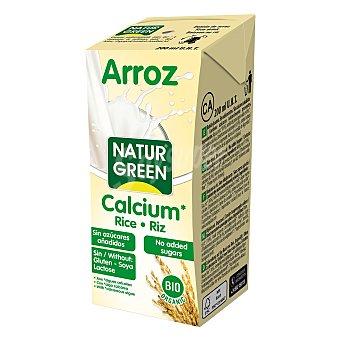 Naturgreen Bebida de arroz y calcio bio 200 ml