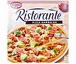 Pizza de masa fina y crujiente con carne de vacuno, jamón cócido y mezcla de queso 350 g Ristorante Dr. Oetker
