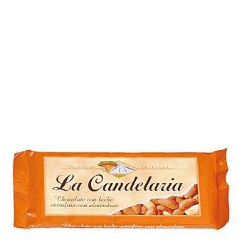 La Candelaria Chocolate extrafino con leche y almendras 150 g