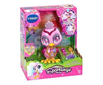 VTECH Sparklings Iris pavo real interactivo Maquillaje mágico Kidi Sparklings vtech.