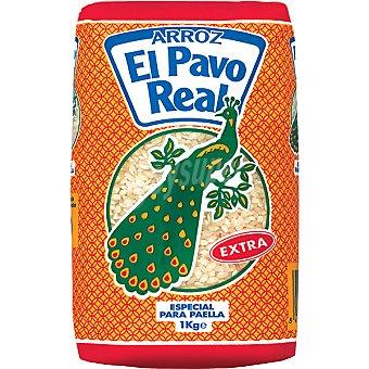 El Pavo Real Arroz redondo extra especial para paella paquete 1 kg Paquete 1 kg