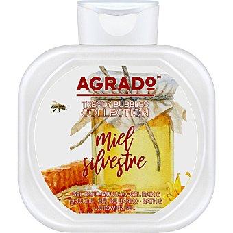 Agrado Gel de baño y ducha miel silvestre Bote 750 ml