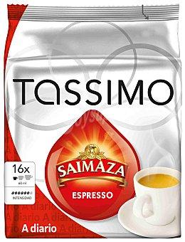 Tassimo Café Tassimo Saimaza Cápsulas Espresso 16 ud