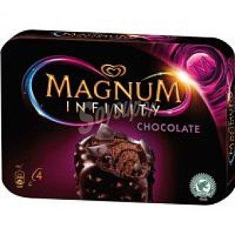 Magnum Frigo Magnum Infinity de chocolate negro Pack 4x100 ml