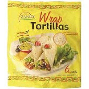 Zanuy Wrap tortilla 6 unid