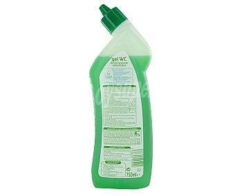 Auchan Limpiador ecológico WC en gel líquido, perfume menta 750 mililitros
