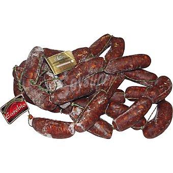 EUSEBIO Longaniza ibérica de salchichón extra de capadura 100 gramos