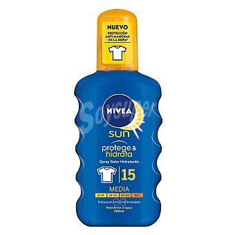 Nivea Spray solar hidratante FP 15 Protección media 200 ml