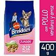Pienso para gatos junior cachorro con pollo, arroz y leche Bolsa 400 g Brekkies Affinity