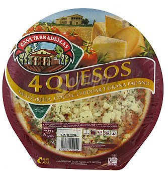 Casa Tarradellas Pizza 4 quesos 390 g