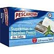 Supremas de bacalao caja 300 g Pescanova