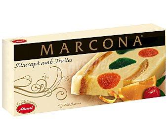 Marcona Turrón de mazapán con frutas, 250 gramos