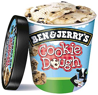 Ben & Jerry's Helado Cookie Dough 500 ml