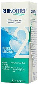 RHINOMER Cuidado de las fosas nasales 2 Fuerza Media 135 ml