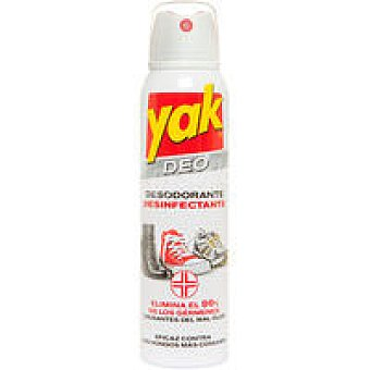 Yak Desodorante desinfectante para calzado Spray 150 ml