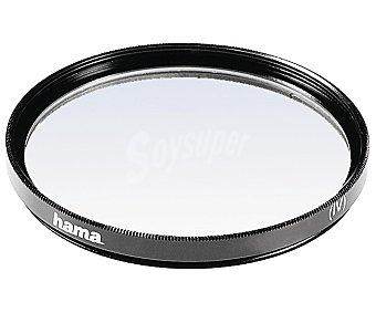 Hama Filtro ultravioleta UV 58MM para objetivo, neutro para objetivo, neutro