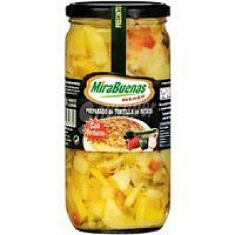 MIRABUENAS Preparado de patata con verdura Tarro 700 g