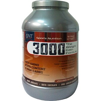 QNT 3000 Weight Gain Sabor chocolate Bote 1300 g