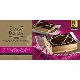 Eceiza Minitartas trufada-choco Duetto Pack 2x75 g