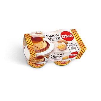 Dhul Flan de huevo al baño maría Pack 4x110 g