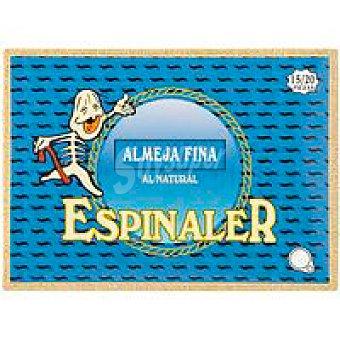 Conservas Espinaler Almeja fina 15/20 piezas Lata 125 g