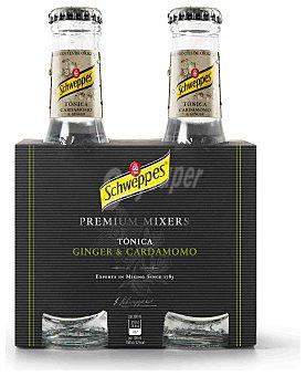 SCHWEPPES Tónica Premium Ginger&Cardamomo 4x20cl
