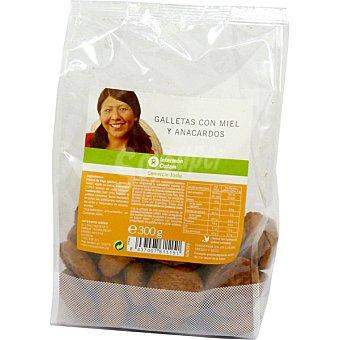 Intermón Oxfam Galletas miel y anacardos 300 g