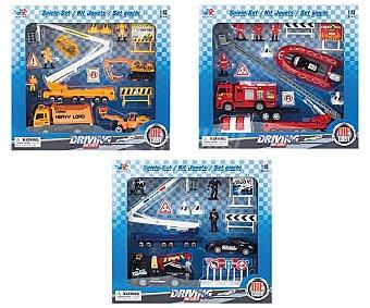 Dickie toys Set de coches y vehículos de metal con accesorios Toys.