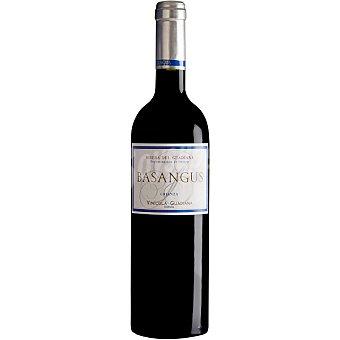 Basangus Vino tinto crianza de Extremadura Botella 75 cl