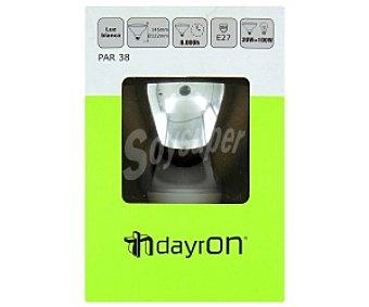 DAYRON Lámpara bajo consumo PAR38 E27 20W Luz blanca, vida útil estimada: 8000Hrs 1 Unidad