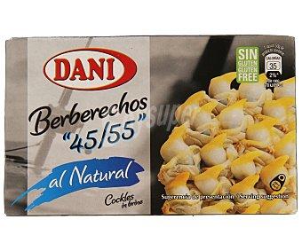 Dani Berberechos Al Natural 45/55, 58 g