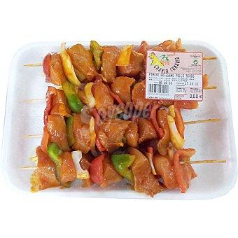 GRANJA CANARIA Pinchitos de pollo adobados bandeja 350 g peso aproximado Bandeja 350 g