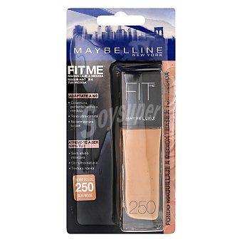 Maybelline New York Maquillaje Fitme nº 250 sun beige 1 ud
