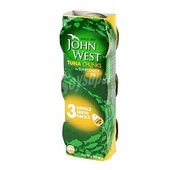 John West Atún en aceite Pack de 3x56 g